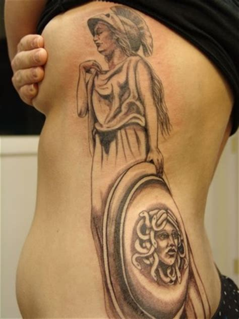 athena tattoo athena rib tattoos