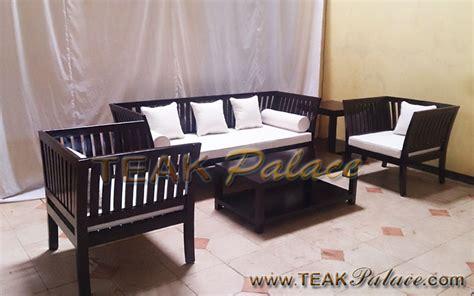 Sofa Ruang Tamu Malang kursi tamu boston minimalis jati harga murah mebel jepara