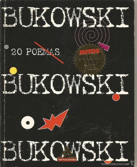 libro desgracia literatura mondadori charles bukowski 20 poemas mondadori comprar libros de poes 237 a en todocoleccion 56399086