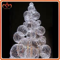 dismountable ball tree outdoor christmas decorations
