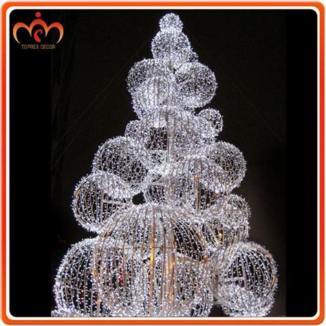 Outdoor Christmas Decorations Clearance | dismountable ball tree outdoor christmas decorations