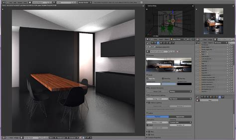 blender tutorial interior lighting currently blending bi interior light setup blender mama