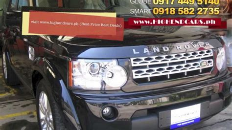 land rover philippine 2013 land rover lr4 discovery 4 diesel hse philippines www