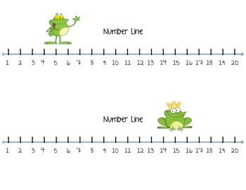 printable number line 1 20 pdf common worksheets 187 free printable number lines 1 20