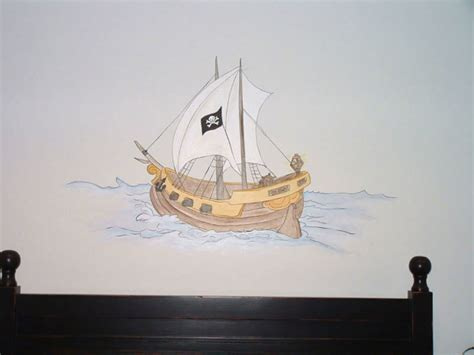 pirate wall murals pirate theme wall murals exles of pirate wall murals
