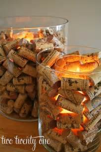 Cork Vase Filler Wine Cork Candle Holder