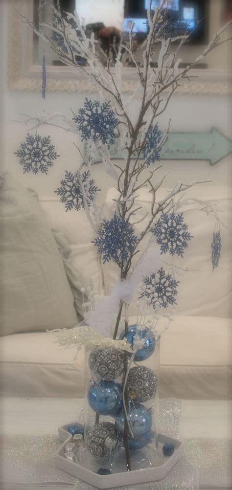 winter centerpieces diy 17 best ideas about snowflake centerpieces on winter centerpieces winter