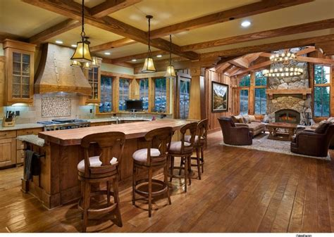 home open floor plans love the plan for our lake house true cabin life magazine barn rustic