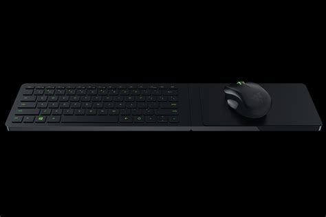 Mouse Keyboard Razer razer turret living room gaming mouse and lapboard