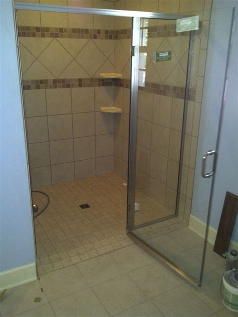 Handicap Shower Doors No Threshold Shower Enclosures Handicap 36 Door With
