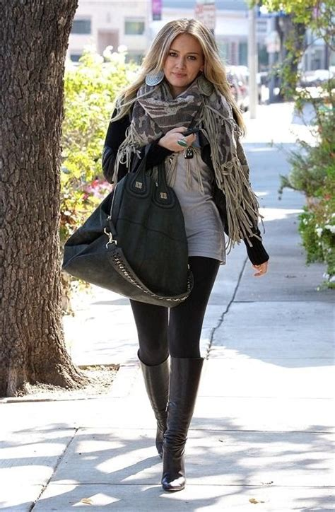 Hilary Duff Keeps Clothes On For Fhm by 18 Best Knee High Lovin Images On Knee High