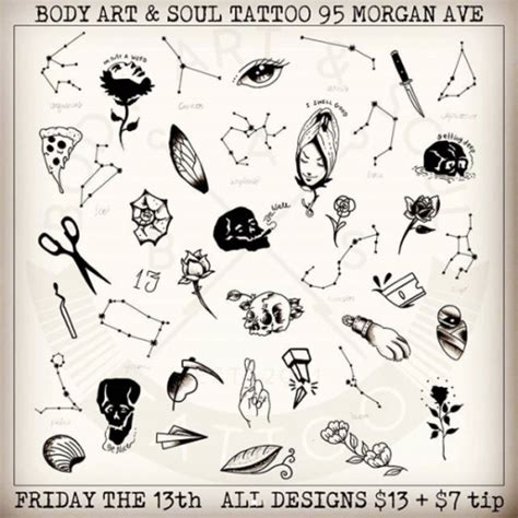 friday the 13 tattoo specials flash sales friday the 13th specials