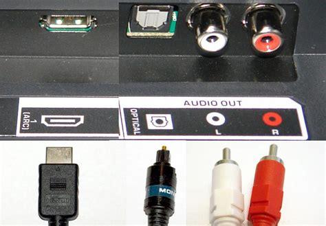 connect  tv   external audio system   sound