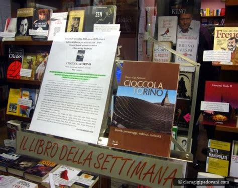 libreria via po torino cioccolato libri e ricette clara e gigi padovani foto