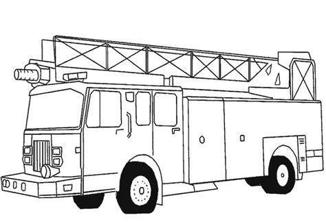 simple fire truck coloring page dibujos para colorear de cami 243 n de bomberos coche de