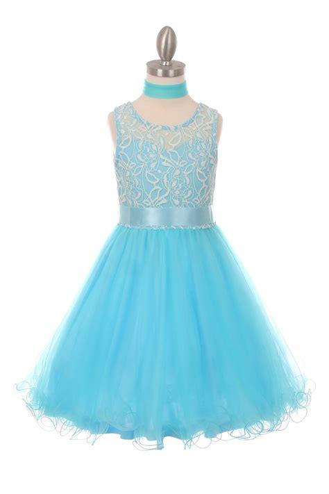 ccaq girls dress style  sleeveless lace
