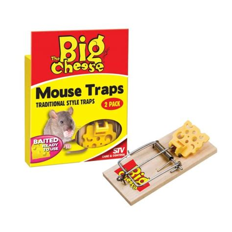 Sale Mainan Ch2114 Jimmy Mouse Cheese the big cheese pre baited mouse trap pack at burnhills