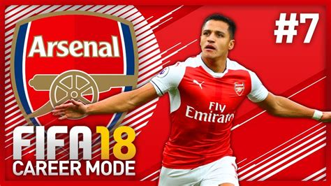 alexis sanchez career stats alexis sanchez baby fifa 18 arsenal career mode episode
