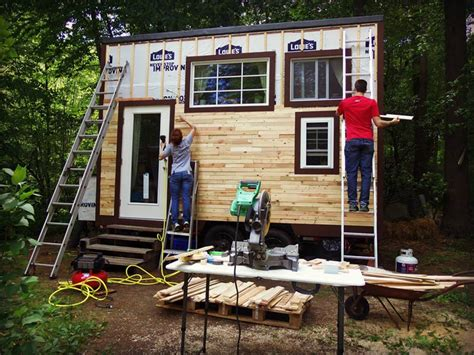 pod tiny house how a young couple built this adorable mortgage free quot pod