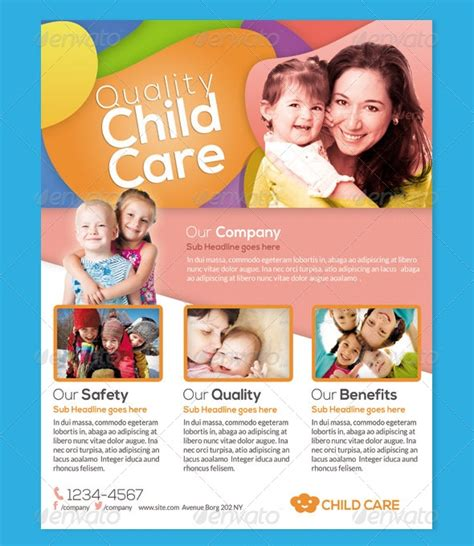 Free Printable Home Daycare Flyers