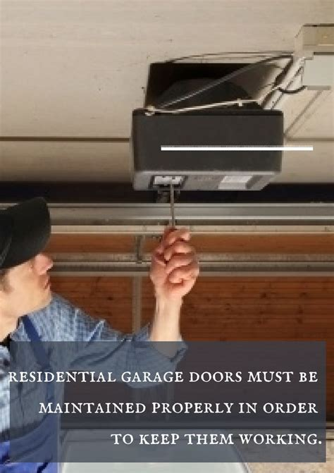 Garage Door Malfunction When A Garage Door Malfunctions It Can Be Frustrating Inconvenient And At Times A Security