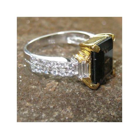 Batu Cincin Smoky Quartz cincin silver wanita smokey quartz 1 41 carat ring 7us
