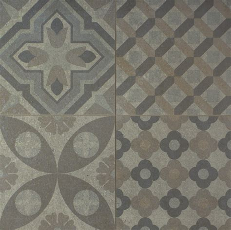 Grey Pattern Wall Tiles | skyros delft grey wall and floor tile wall tiles from
