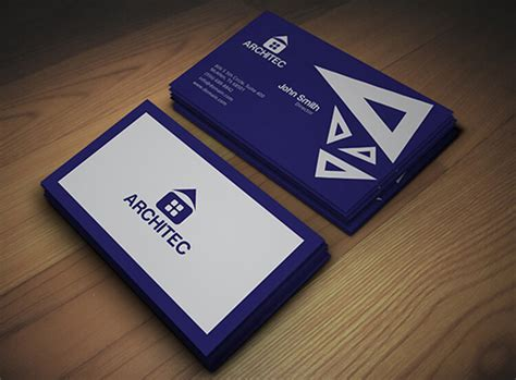 architecture business card 18 architect business cards free psd design templates