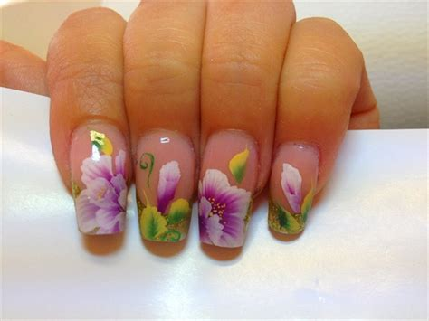 tutorial nail art one stroke one stroke nail art gallery