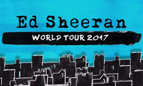 Ed Sheeran Tour | north american tour dates ed sheeran official blog