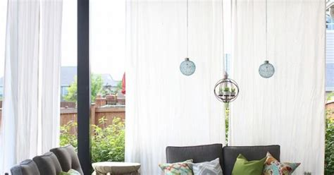 make your own outdoor curtains how to make your own diy outdoor curtains and secure them