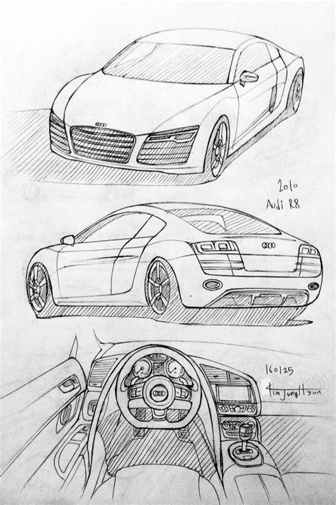 cartoon audi r8 best 25 car drawings ideas on pinterest drawings of