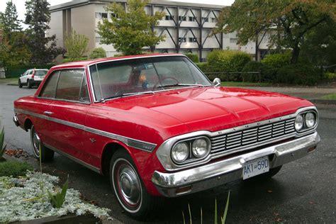 rambler car old parked cars vancouver 1964 amc rambler 770
