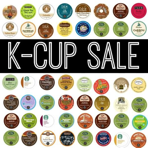 Discounted K cups from $0.41 including Green Mountain