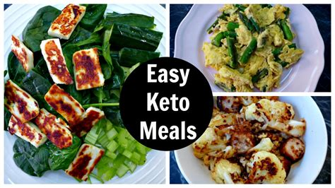 easy keto meals full day of low carb keto diet eating
