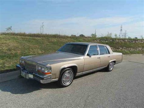 86 Cadillac Fleetwood Brougham by Classic Cadillac Fleetwood Brougham For Sale