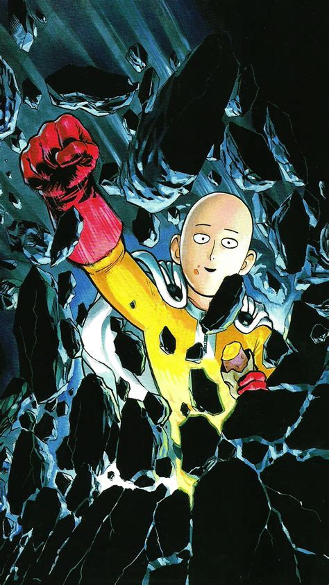 wallpaper android one punch man the forgotten lair one punch man mobile wallpapers