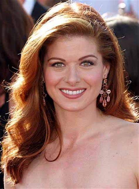 hairstyles red hair round face long wavy hairstyles for round faces debra messing and