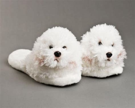 dog house shoes bichon frise slippers bichon frise dog slippers