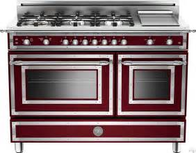 Gas Ovens And Cooktops Bertazzoni Her486ggasvi 48 Inch Traditional Style Gas