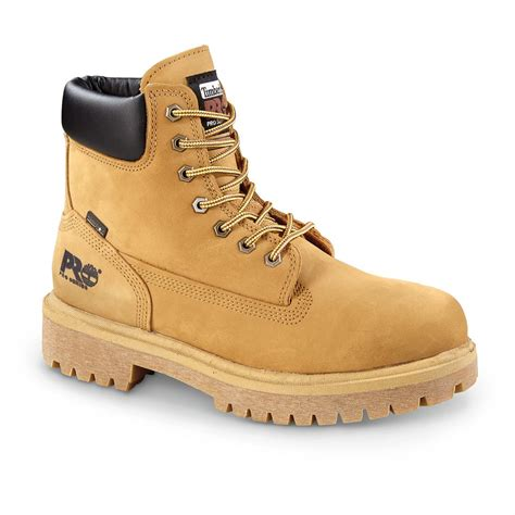 timberland pro boots timberland pro direct attach 6 quot soft toe waterproof work