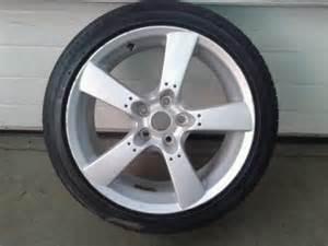 mazda rx8 18 inch alloy wheel tyre 225 45 18 genuine oem