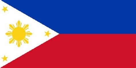 philippines flag filipino asian country banner pennant