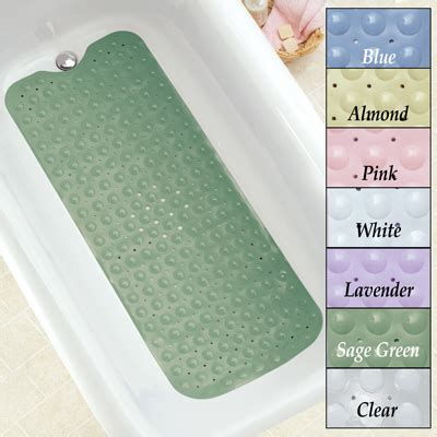 extra long bathtub extra long cushioned bathtub mat from collections etc