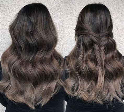 hair color ash brown to ash blonde sombre hair color melt 35 smoky and sophisticated ash brown hair color looks