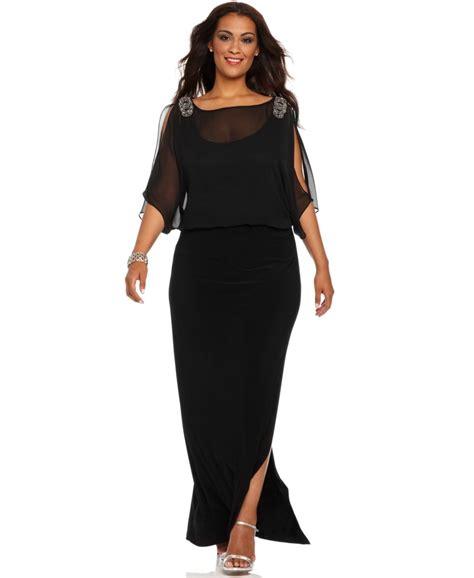Dress Formal Big Size plus size semi formal dresses for big