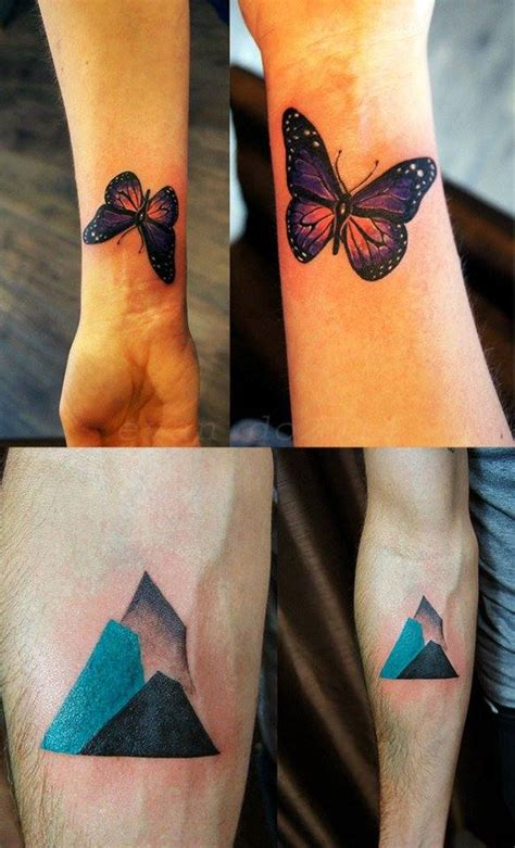 minimalist tattoo butterfly wrist butterfly and minimalist mountains tattoos chronic ink