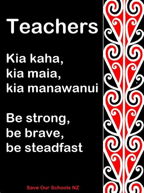 Translate Kia Kaha De 25 Bedste Id 233 Er Til Maori P 229