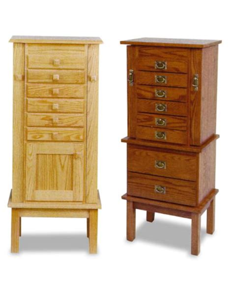 amish oak jewelry armoire amish mission and split mission jewelry armoire amish