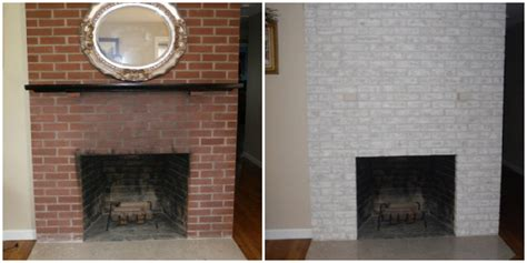 Painting Brick Fireplace Ideas Pictures by Brick Fireplace Makeover Home Decorating Ideas